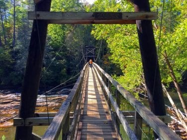 three forks to skeenah gap bridge